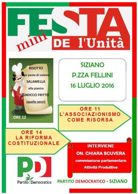 Festa Unità 16 Luglio 2016 - Siziano